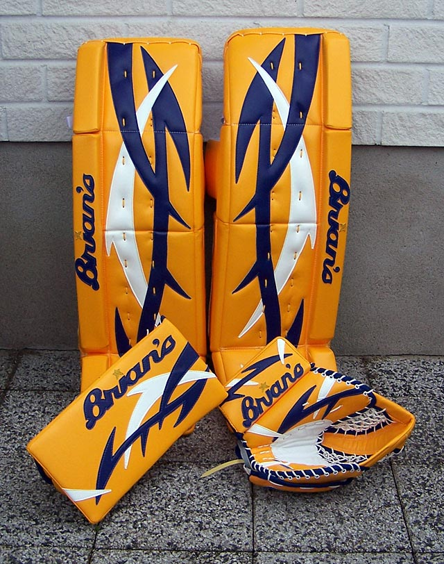 ray Emery equipment
